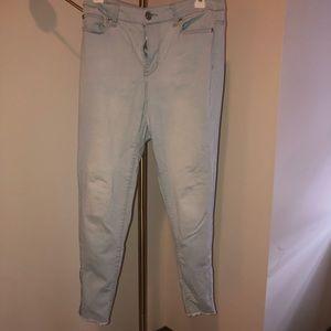 Forever 21 light denim jeans